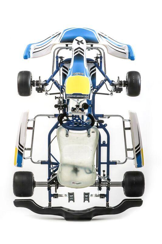 Ricciardo Kart (DR01-KZ (30mm) // Homologation 31/CH/20) 2018